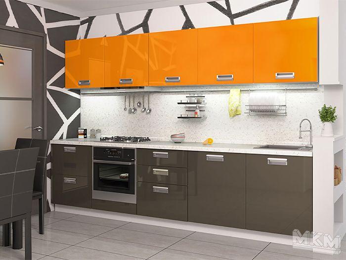 Кухня ПЛАСТИК КР-31