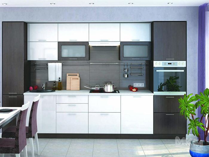 Кухня МДФ К-71